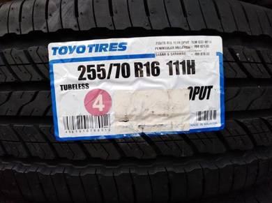 255/70/16 Toyo Open Country U/T Tyre Tayar