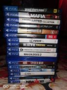 Ps4 slim with 15 cd games