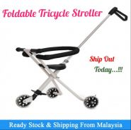 Fordable Tricycle Stroller (b)