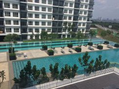 Condominium bsp21 for rentnice unit fully furnish