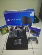 PS4 PRO 1TB complete set with 4cd and 2 ds4