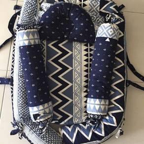Set Tilam Kekabu Baby (babynest)