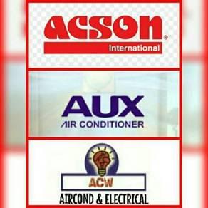 Promosi aircond acson &aux; r410a
