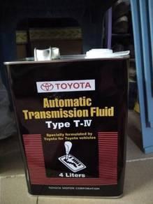 Toyota Automatic Transmission Fluid Type T-IV