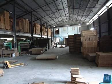 1.5 Acres Freehold Factory Jalan Besar, Simpang Ampat