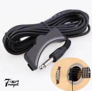 Sound hole acoustic guitar
