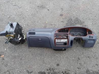 Dashboard L5 Kelabu Meter RPM Walnut for Kancil