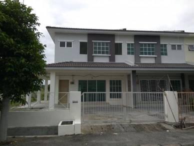 Double Storey Terrace House at Taman Kledang, Corner Unit