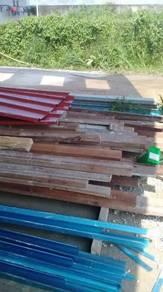 Kayu terpakai, beam dan plywood