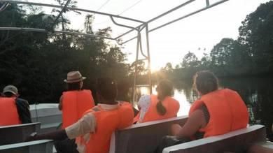 Klias River Cruise Day Trip FULLBOARD PACKAGE