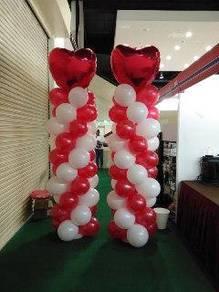 Pillar Balloons for Event