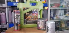 Liqui moly 5w30 molygen fully+works filter promo