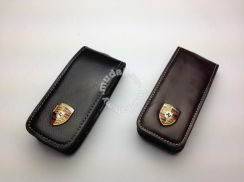 Porsche Leather Key Fob Holder
