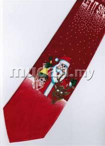 Christmas Cartoon Novelty Fancy Neck Tie 13