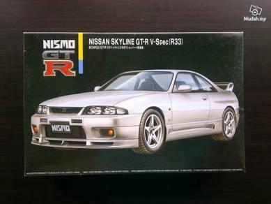1-24 Nissan R33 Skyline GT-R Nismo car kit