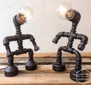 Table lamp/ Pipe Lamp/ Robot Lamp