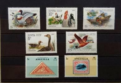 CCCP ducks stamps BK59