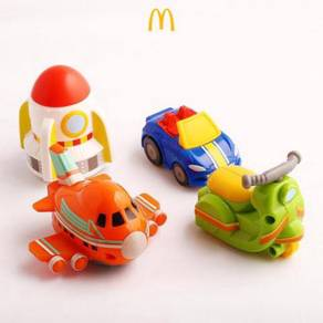 Happy Meal Toys - Choro Q 2018