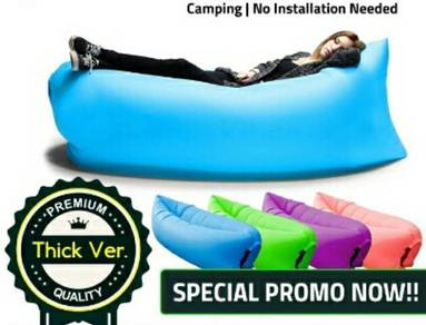 New Inflatable Air Sofa Couch Outdoor Sleeping Bag