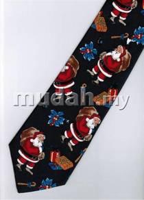 Christmas Cartoon Novelty Fancy Neck Tie 21