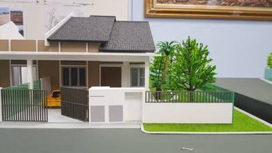 Jalan Kebun Single Storey Terrace Sell 338K Only, For Gov Lppsa
