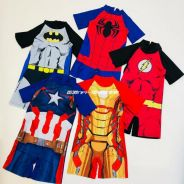 Iron man Captain america Spiderman Kids swim suit