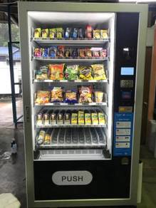Combo Snack Cold Drink Water Vending Machine