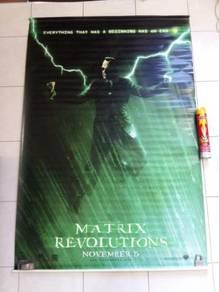 Poster Original THE MATRIX REVOLUTIONS 2003