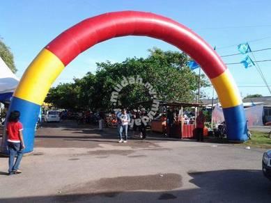 Pintu gerbang blower tiga warna