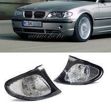 BMW E46 Indicator black surround Corner Lamp unit