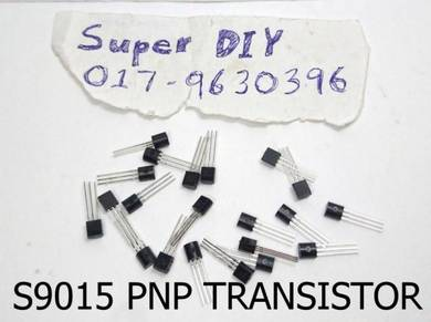 S9015 PNP Transistor for replace damaged or DIY