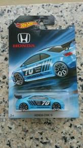HotWheels Honda Civic Si Blue Honda Series