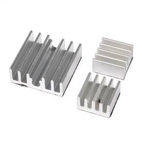 3 Set Aluminium Heat Sinks With Adhesive Tape For