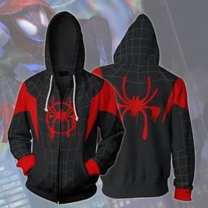 Spiderman black red hoodie jacket RBT0077