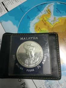 Malaysia 25 ringgit coin