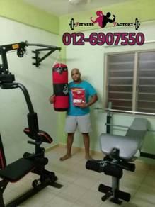 HOME GYM mini buat gym di rumah MURAH je NEW