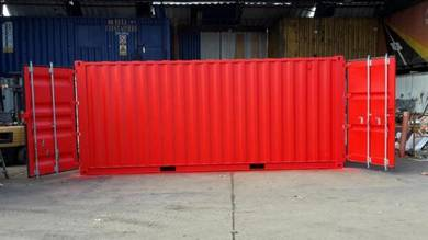 2 doors used shipping containers