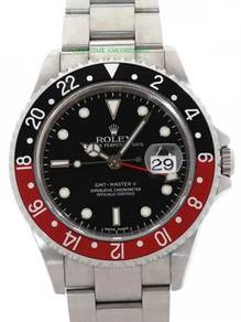 Rolex gmt master 2 16710 coke y-series full set