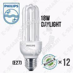 NEW-12pcs xPhilips E27 18W -PLCE(Cool Daylight)