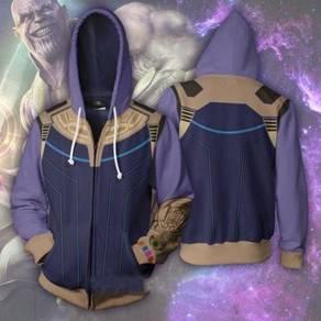 Thanos Avengers Cyborg hoodie jacket RBT0076