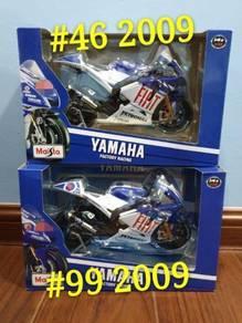 Maisto 1:10 Yamaha Fiat Rossi #46 Motogp Diecast