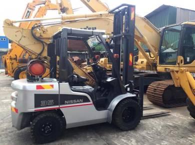Rental Forklift, 3.50 ton (Japan Nissan Forklift)
