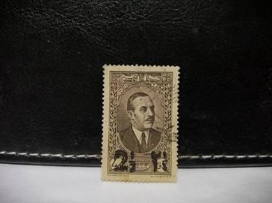 1938 Lebanon Stamp President Edde