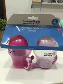 NEW Tommee Tippee Twin Handle Non Spill Cup