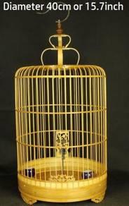 Quality Bamboo Bird Cage, Sangkar Burung, 15.7inch