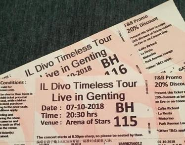 Il Divo Live In Genting Highlands 2018