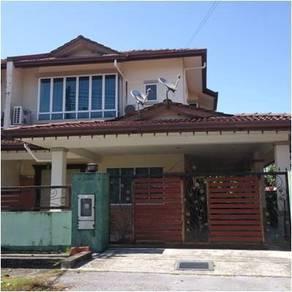 Double storey semi-detached, Taman Demak Indah, Off Jalan Demak