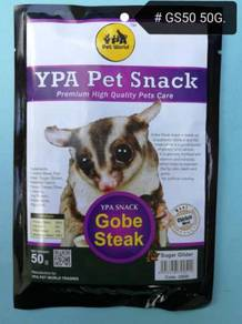 YPA Snack Gobe Steak 50gram Sugar Glider Makanan