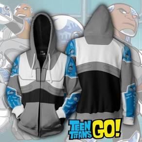 Pre order Teen Titans Cyborg hoodie jacket RBT0075