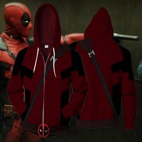 Deadpool red Hoodie jacket RBT0088